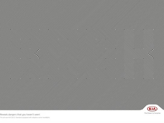 KIA Print Ad -  Rock