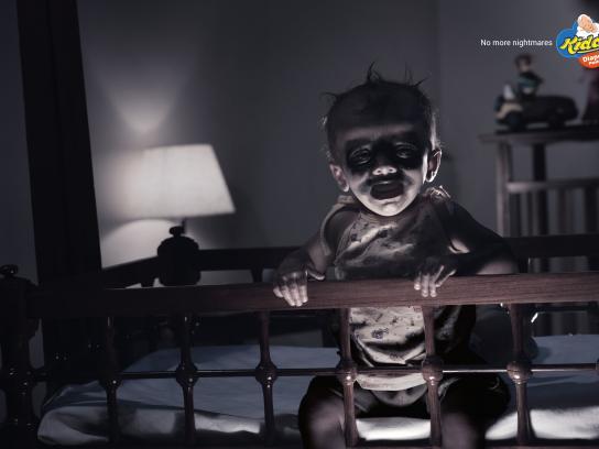 Kiddo's Print Ad - Nightmare