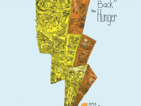 Creative Guild of the Philippines Print Ad -  Bring back the hunger, 2