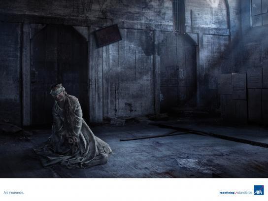 AXA Print Ad - Kidnapping