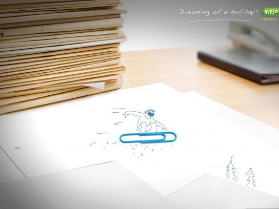 Kielo Print Ad -  Snowboarder
