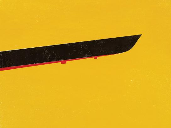 Latam Print Ad - Kill Bill