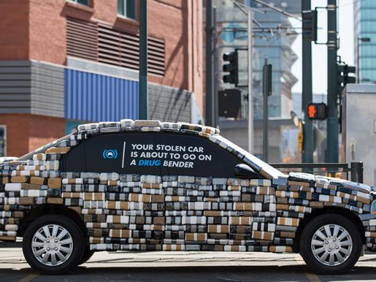 Coloradans Against Auto Theft Ambient Ad - Kilo Car