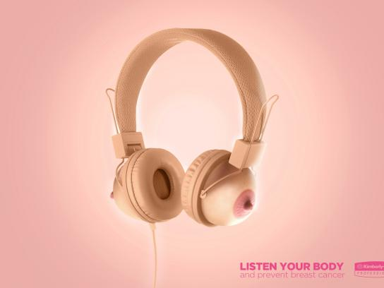 Kimberly-Clark Print Ad - Headphones