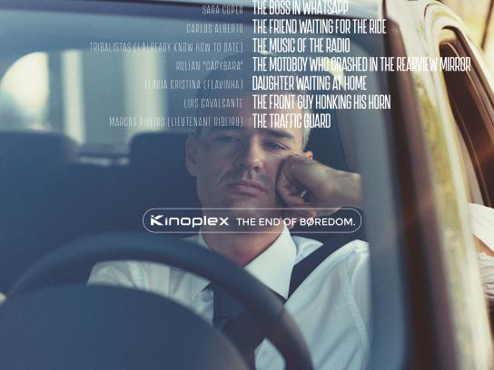 kinoplex Print Ad - The End of Boredom, 1