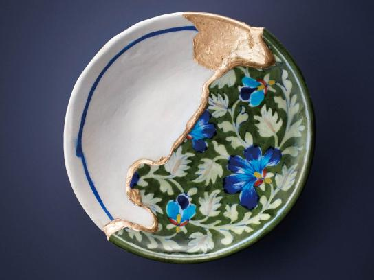 Rokujigen Print Ad - Kintsugi Pieces in Harmony - Pakistan, India