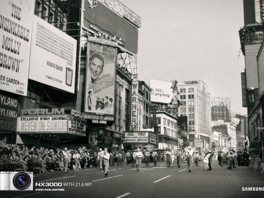 Samsung Print Ad -  Kiss
