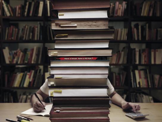 Kit Kat Film Ad -  Study