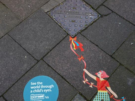 V&A Museum of Childhood Outdoor Ad -  Kite