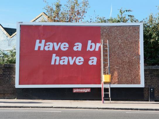 Kit Kat Outdoor Ad -  Break