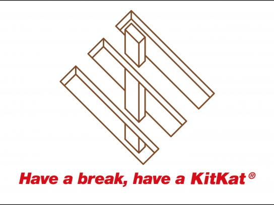 Kit Kat Outdoor Ad - Have a break, 1