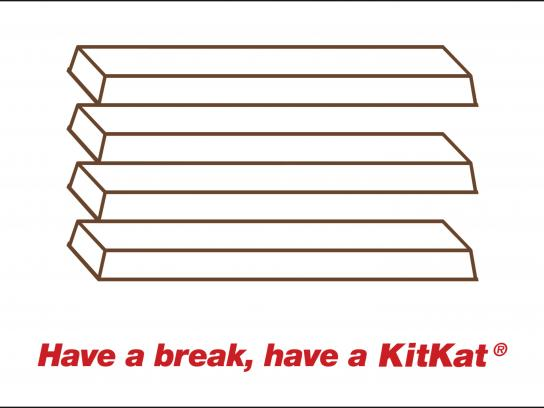 Kit Kat Outdoor Ad - Have a break, 2