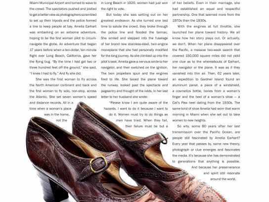 Kiwi Print Ad - Earhart