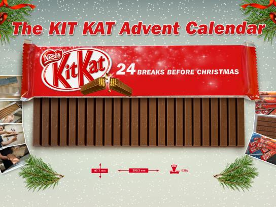 Kit Kat Direct Ad -  Kit Kat Advent Calendar
