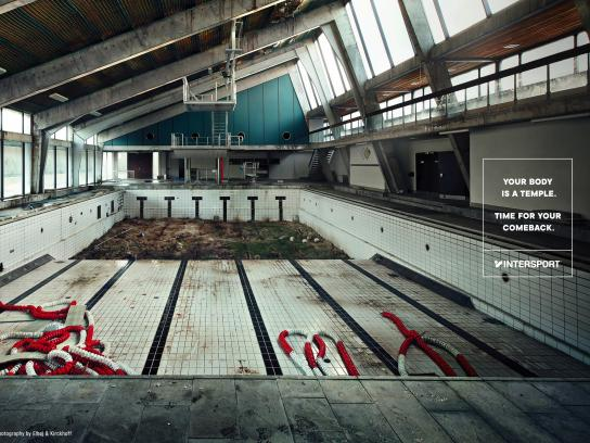 Intersport Print Ad - Abandoned Bodies, 1