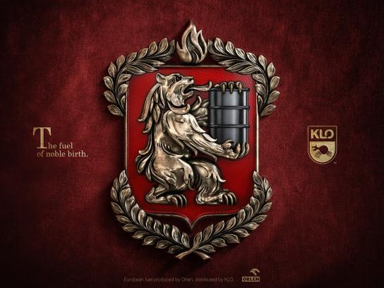 KLO Print Ad - Coat of Arms - Bear