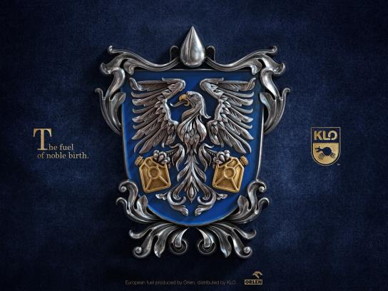 KLO Print Ad - Coat of Arms - Eagle