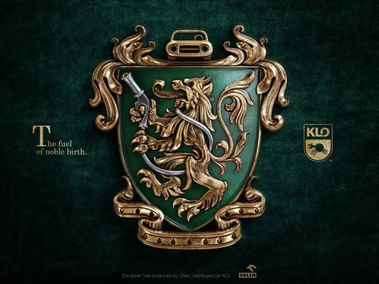 KLO Print Ad - Coat of Arms - Lion