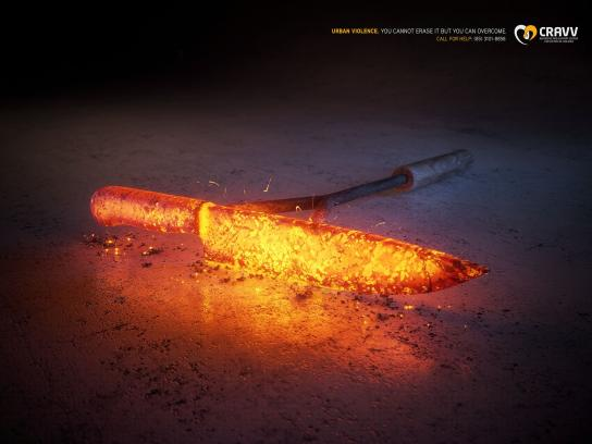 Government of the State of Ceará Print Ad -  Knife
