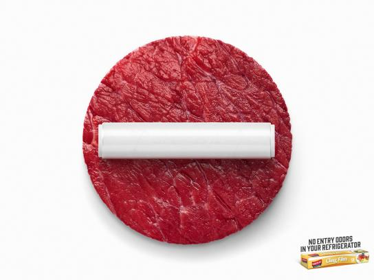 Koroplast Print Ad -  No entry - beef