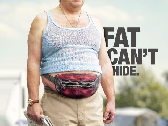 Kingdom of Sports Print Ad -  Fat can't hide, Tourist