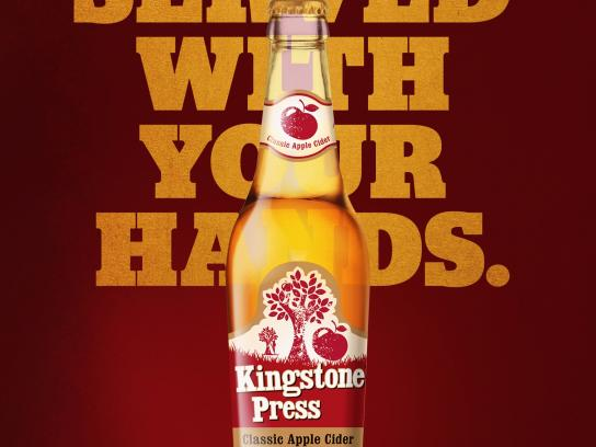 Kingstone Press Print Ad -  Hands