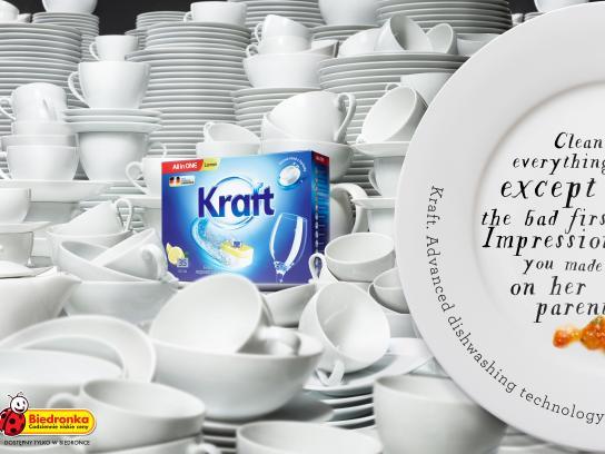 Biedronka Print Ad - Kraft, 1