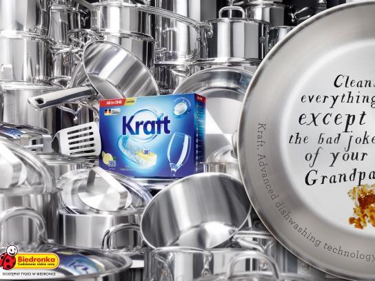 Biedronka Print Ad - Kraft, 2