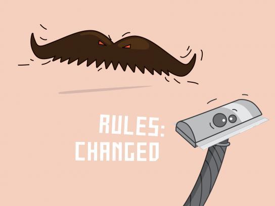 Krav Maga Print Ad -  The mustache