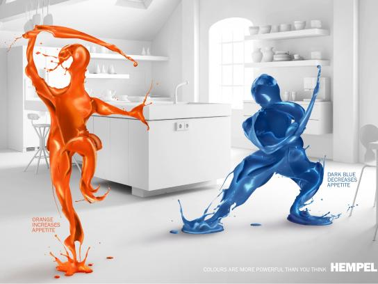 Hempel Print Ad -  Kitchen