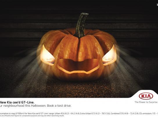 KIA Print Ad -  Pumpkin cee'd
