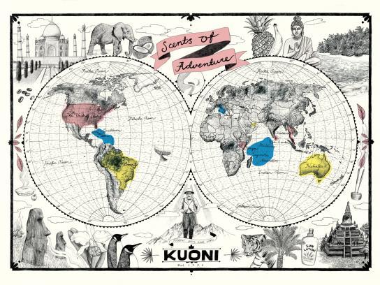 Kuoni Digital Ad -  Scents of Adventure