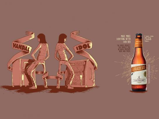 The Beers Print Ad -  Kurt
