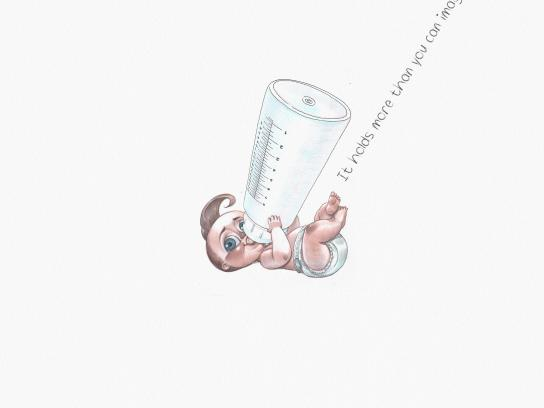 Samsung Print Ad - Space Max Baby
