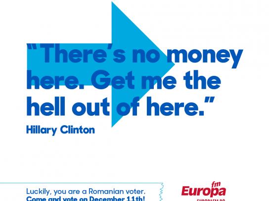 Europa FM Radio Print Ad - #voteinRomania, 4