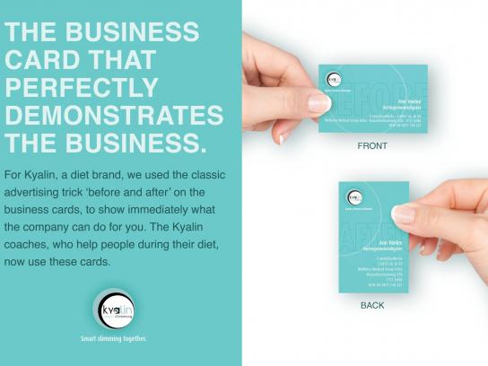 Kyalin Direct Ad -  Before and after