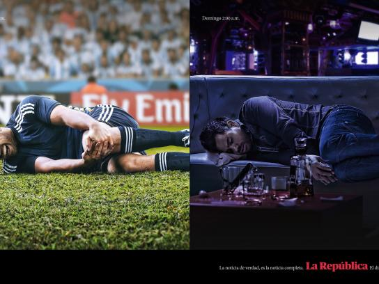 La Republica Print Ad -  Real news, 1