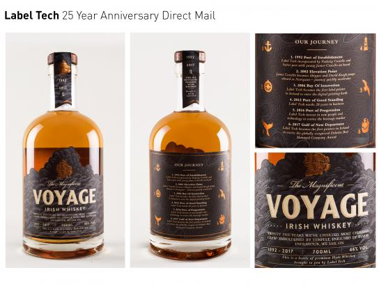 Label Tech Direct Ad - 25 Year Anniversary Direct Mail