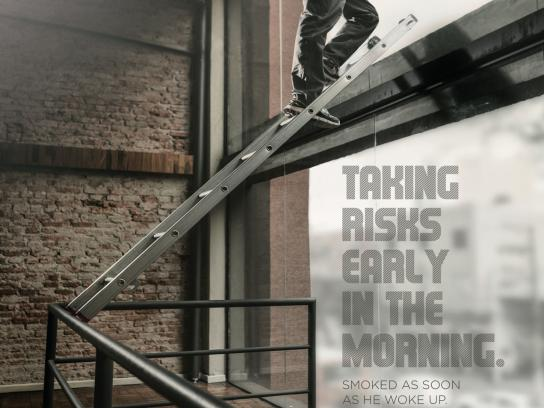 Central Clinic Print Ad -  Ladder