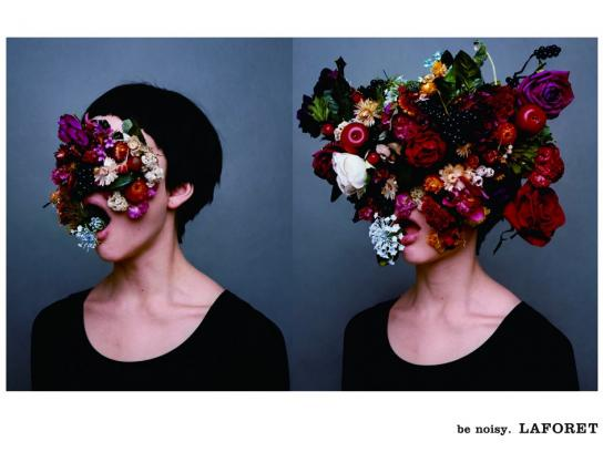 Laforet Print Ad -  Be Noisy, 1