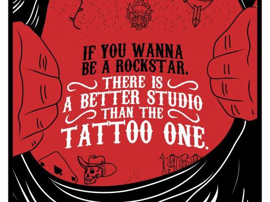 Estudio Gorila Outdoor Ad -  Tattoo