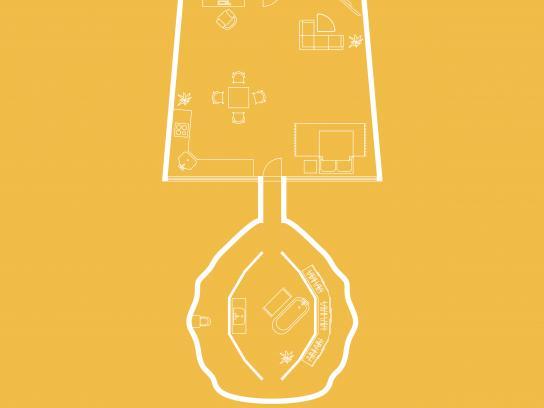 Bonami Print Ad - Lamp