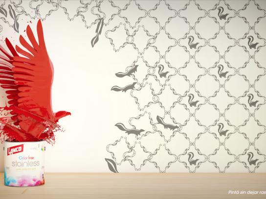 Lanco Print Ad - Eagle