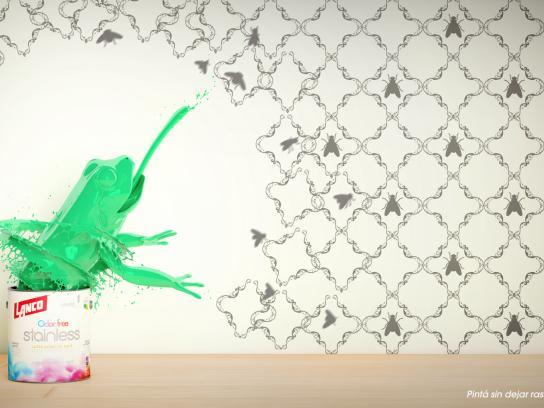 Lanco Print Ad - Frog