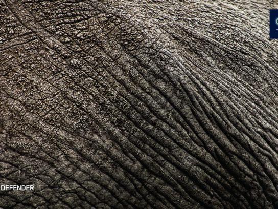 Land Rover Print Ad -  Elephant