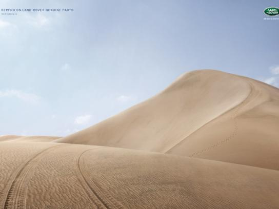 Land Rover Print Ad -  Dunes