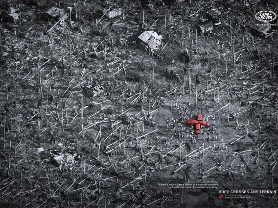 Land Rover Print Ad -  Hurricane