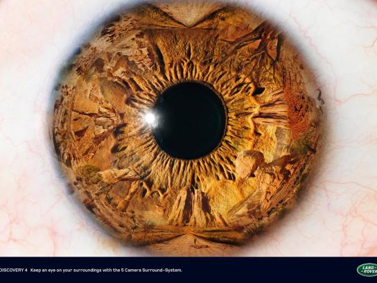Land Rover Print Ad -  Eye, 2