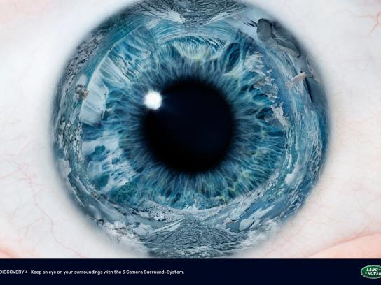 Land Rover Print Ad -  Eye, 3