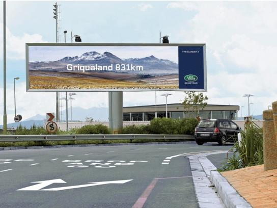 Land Rover Outdoor Ad -  Griqualand